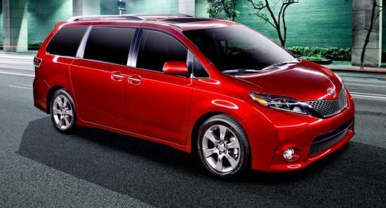Toyota minivan Sienna