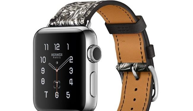 Apple Watch với dây đeo Equator Tatoutage do Hermes phát hành