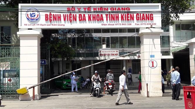 Hiện nay Kiên Giang đang có 3 bệnh viện tuyến tỉnh- (Ảnh: Báo Thanh Niên).