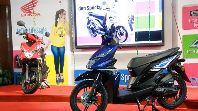 Honda cho ra mắt mẫu scooter mới