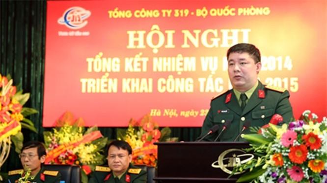 Đại tá, nguyên Chủ tịch Hội đồng thành viên và Tổng Giám đốc TCT 319 Phùng Quang Hải