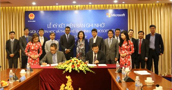 Microsoft giúp Bộ Tài chính xây dựng các quy định và phát triển nguồn nhân lực CNTT trong ngành dọc.