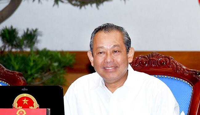 Phó Thủ tướng Trương Hòa Bình - (Nguồn Internet)