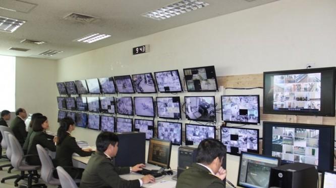 Hệ thống theo dõi kiểm soát an ninh, an toàn của sân bay Tân Sơn Nhất- (Ảnh: Báo giao thông).