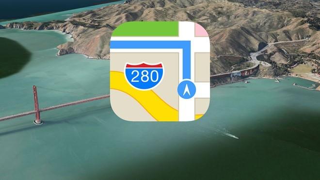 Apple đầu tư vào lĩnh vực bản đồ số từ năm 2012.