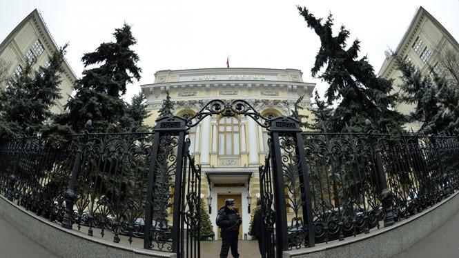 Ngân hàng Trung ương Nga là con mồi mới nhất của tin tặc- (Ảnh: AFP).