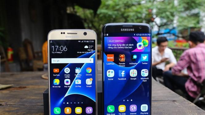 Samsung đồng loạt giảm giá các smartphone cao cấp tại Việt Nam