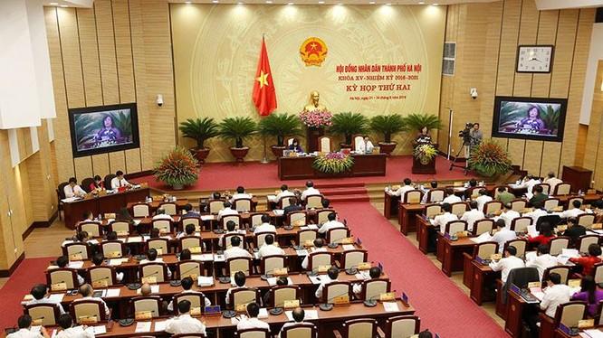 Kỳ họp thứ ba HĐND thành phố Hà Nội