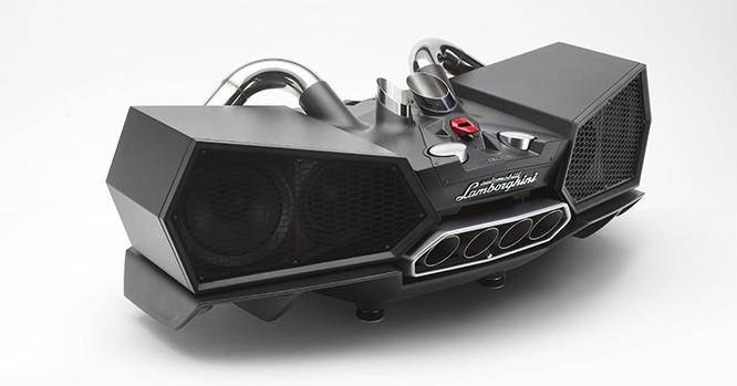 """Bộ loa """"độ"""" từ siêu xe Lamborghini"""