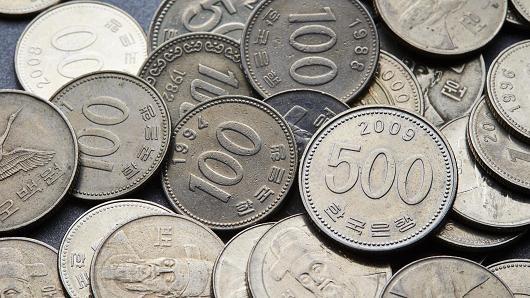 Ngân hàng Hàn Quốc tuyên bố nỗ lực nhằm giảm sự lưu thông của tiền xu