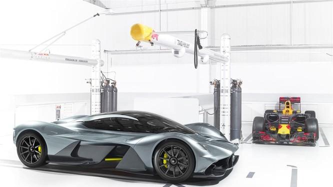 Siêu phẩm hợp tác giữa Aston Martin và Re Bull Racing.