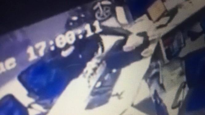 Hình ảnh tên trộm được cắt ra từ camera an ninh