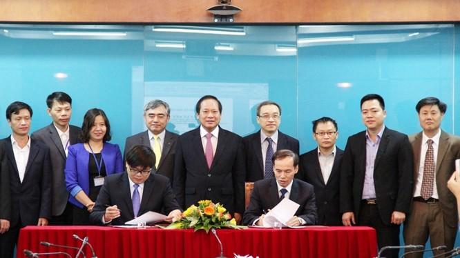 Lễ ký kết Biên bản ghi nhớ hợp tác giữa Học viện Công nghệ Bưu chính Viễn thông và Trường Cao đẳng Công nghệ thông tin Hữu nghị Việt - Hàn.