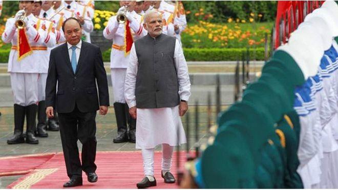 Bản ghi nớ được ký kết nhân chuyến thăm của Thủ tướng Ấn Độ đến Việt Nam