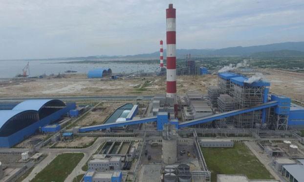 Nhà máy Nhiệt điện Vĩnh Tân ở tỉnh Bình Thuận.