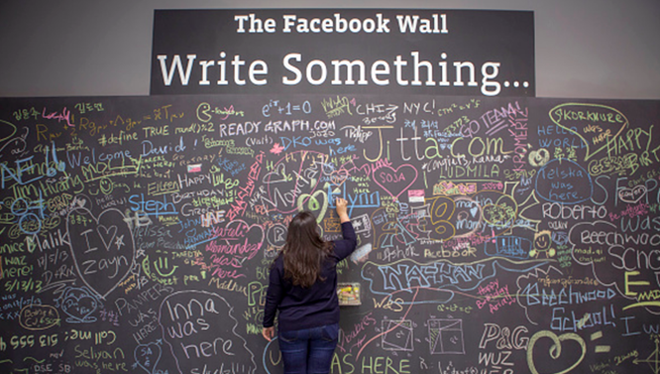 Bức tường để mọi người cùng chia sẻ mọi thứ trong công việc và cuộc sống.