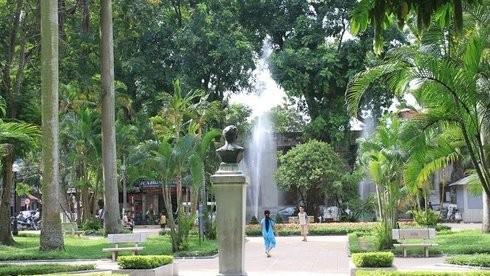 Hà Nội xây 118 vườn hoa, sân chơi công cộng