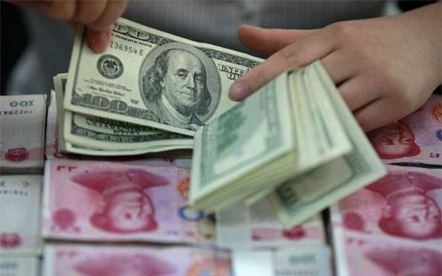 Ngày 7/1, tỷ giá đồng Nhân dân tệ so với USD rớt xuống mức thấp nhất trong 5 năm.
