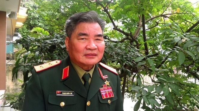 Anh hùng LLVTND, Trung tướng Phạm Xuân Thệ (Ảnh: Nhật Minh).