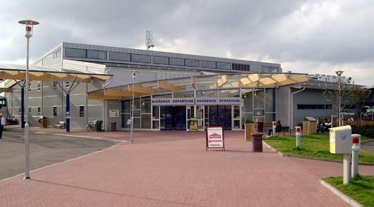 Sân bay Stockholm Skavsta sơ tán hành khách. Ảnh: Wikipedia