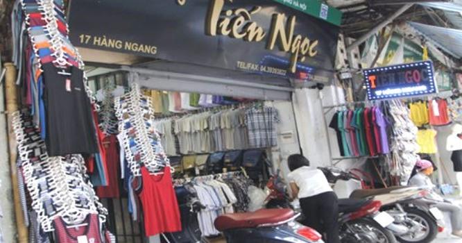 Hơn 58m2 tại 17 Hàng Ngang từng được CTCP Vật liệu xây dựng Hà Nội cho một cá nhân thuê với giá 70 triệu đồng/tháng để được sử dụng. Ảnh: TPO.
