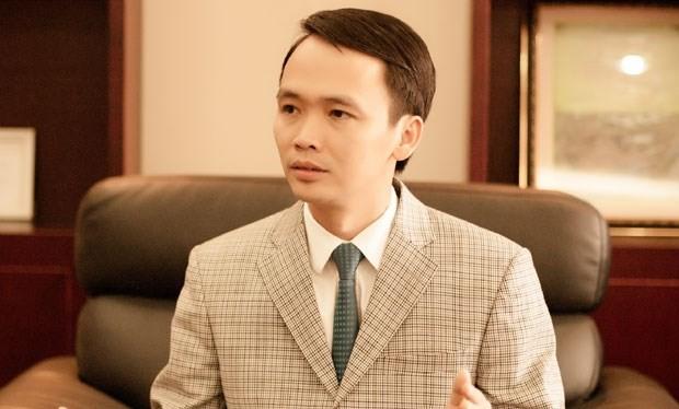 Chủ tịch HĐQT Tập đoàn FLC, ông Trịnh Văn Quyết.