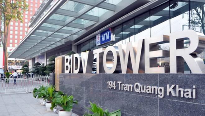 Trụ sở Ngân hàng BIDV.