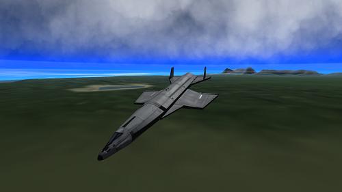 Mô hình máy bay ném bom toàn cầu Sibervogel. Đồ họa: Eprogram