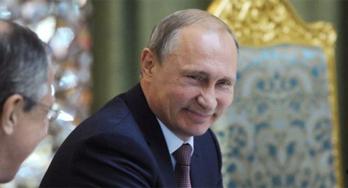 Tổng thống Nga Vladimir Putin. (Ảnh: AP)
