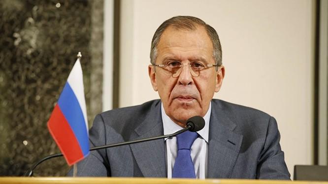 Bộ trưởng Ngoại giao Nga, Lavrov.