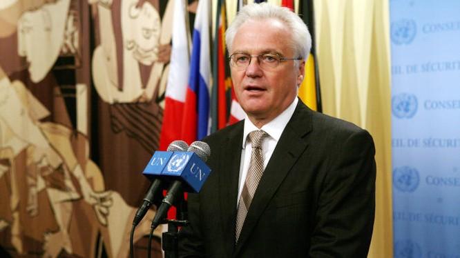 Đại sứ thường trực của Nga tại LHĐ, ông Vitaly Churkin.
