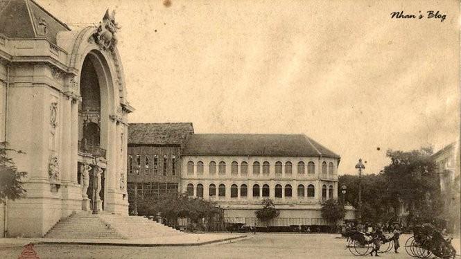 Khách Caravell Sài Gòn nhìn từ phía công viên Lam Sơn từ những ngày đầu... - Ảnh tư liệu
