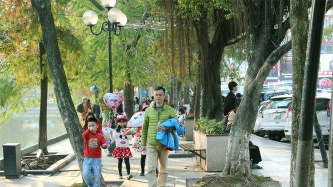 Hôm nay (13/2), miền Bắc tiếp tục nắng ấm trước khi bước vào đợt rét mới (ảnh: Nguyễn Dương)