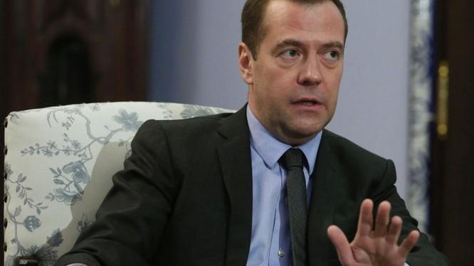 Thủ tướng Nga Dmitry Medvedev.