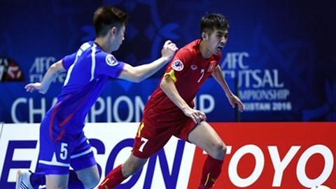 Xem TRỰC TIẾP trận Bán kết Futsal châu Á 2016: Việt Nam vs Iran