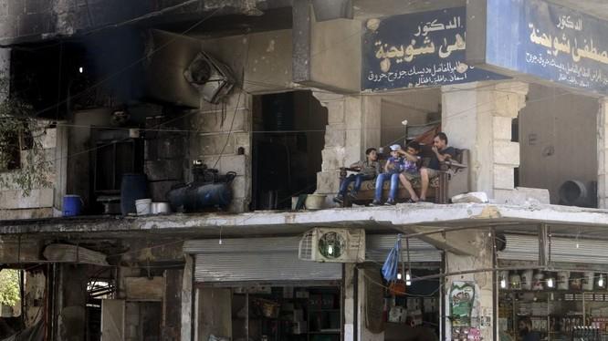 """""""Aleppo đang được giải phóng như Stalingrad"""""""