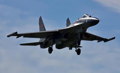 Chiến đấu cơ J-11 của Trung Quốc. Ảnh: huanqiu