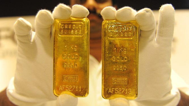 Diễn biến giá vàng hôm nay ở thị trường châu Á.