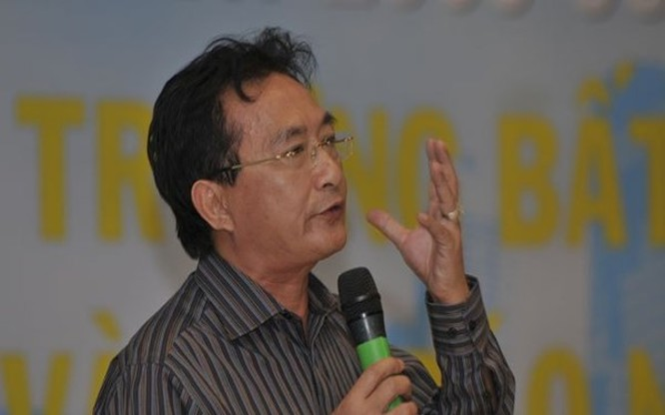 Ông Nguyễn Văn Đực, Phó giám đốc công ty bất động sản Đất Lành