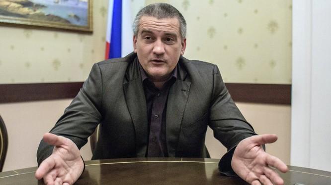 Người đứng đầu Cộng hòa Crưm, Sergey Aksenov.