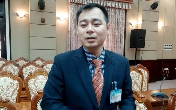 Ông Trần Quang Duy, Trưởng Phòng Nội vụ quận Nam Từ Liêm