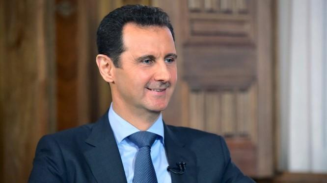 Tổng thống Syria, Bashar Assad.