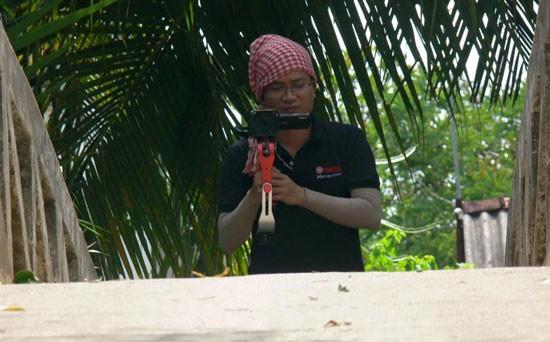 Anh Bùi Mnh Tuấn, người chơi flycam đã khiến VTV bị khóa tài khoản Youtube vì vi phạm bản quyền.