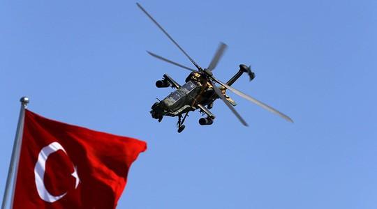 Người Kurd được cho là bắn rơi máy bay của Thổ Nhĩ Kỳ. Ảnh: Reuters