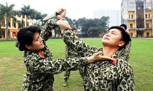 """Lực lượng nữ đặc công - những """"bông hồng thép"""" của QĐNDVN."""