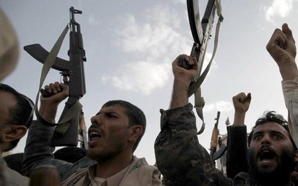 Những người ủng hộ phong trào Houthi tại Yemen.