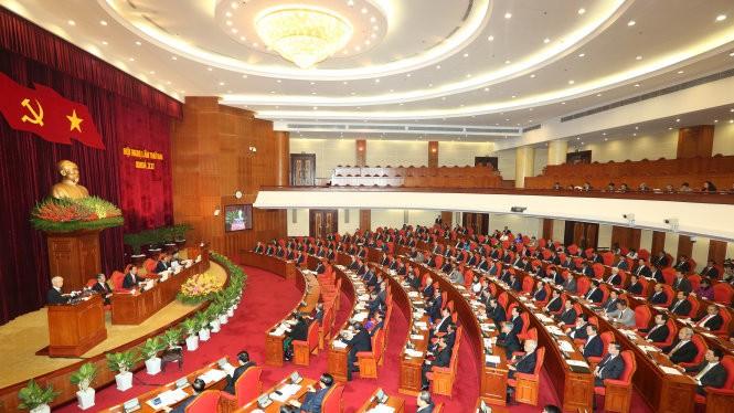 Toàn cảnh phiên khai mạc Hội nghị Ban Chấp hành Trung ương Đảng Cộng sản Việt Nam lần thứ hai, khóa XII - Ảnh: TTXVN.