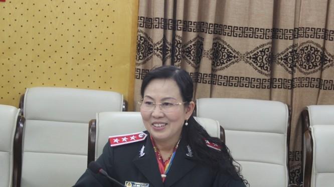 Bà Lê Thị Thủy - Phó Tổng Thanh tra Chính phủ.