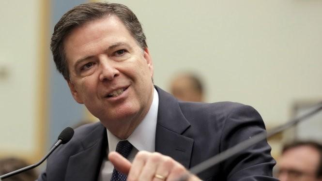 Giám đốc FBI James Comey trong phiên điều trần trước Quốc hội liên quan an ninh quốc gia và quyền cá nhân của người Mỹ hôm 1-3 - Ảnh: Reuters