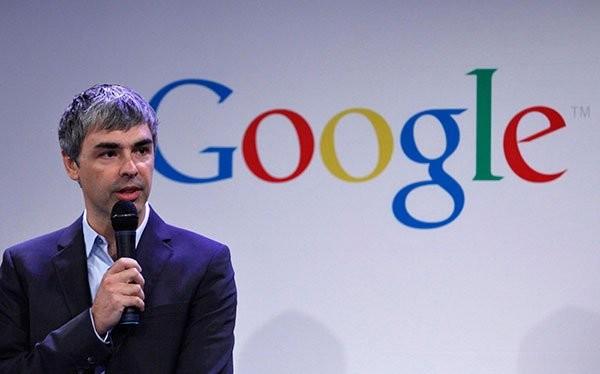 Larry Page, ông chủ của tập đoàn Alphabet.